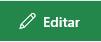 Captura de ecrã do botão Editar ligação no SharePoint.