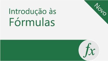 Introdução às fórmulas no Excel