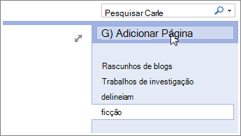 Item do calendário principal do Outlook, comando Copiar para Pasta