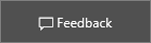 Captura de ecrã: clique no widget de feedback do Centro de Empresas para nos dar o seu feedback