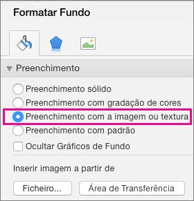 PowerPoint para Mac: Formatar Fundo