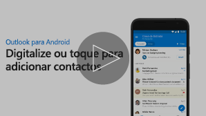 Miniatura do vídeo Adicionar contactos - clique para reproduzir
