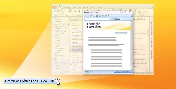 Exercícios práticos no Outlook 2010