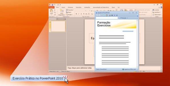 Exercícios práticos do Powerpoint 2010