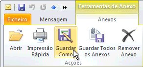 Comando Guardar Como no friso