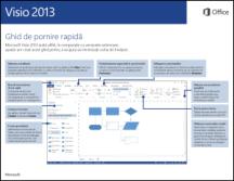 Ghidul de pornire rapidă Visio 2013