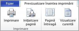Inițializare pagină