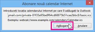 abonare la calendar de internet