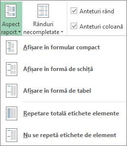 Aspect raport