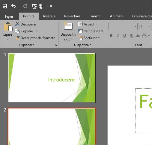 modificarea aspectului și stilului de office pentru windows cu