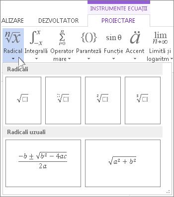 Structuri matematice Radical