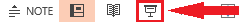 Butonul Începere expunere de diapozitive
