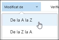 Sortare vizualizarea bibliotecă de documente în Office 365