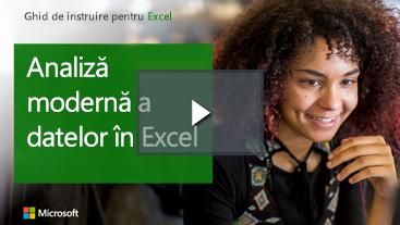 Femeie zâmbitor, ghid de instruire pentru Excel