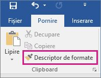 Descriptor de formate