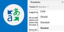 Citiți e-mailul Outlook în limba preferată