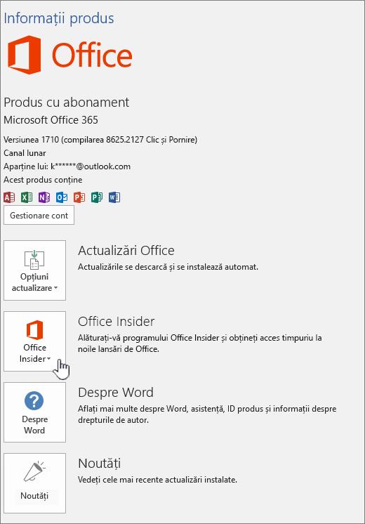 Office Insider în-App-opt.