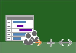 Adăugarea resurselor la proiect