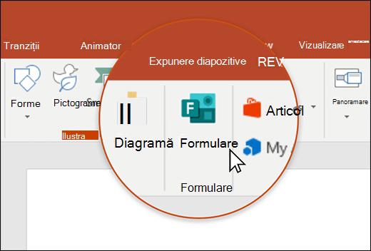 Pictograma forme în PowerPoint