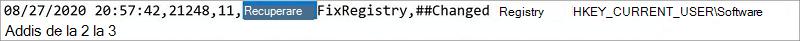"""Imagine cu Microsoft Support și recuperați fișierul jurnal asistent. Cuvântul """"recuperare"""" este evidențiat."""