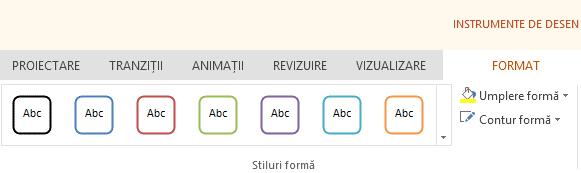Instrumentele formă din Office Online