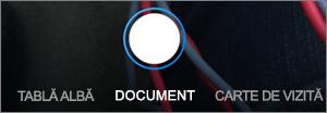 Opțiuni de scanare pentru OneDrive pentru iOS