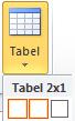Inserare tabel