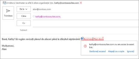 Afișează nume de linkuri prietenoase pentru documentele atașate