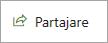 Butonul Partajare de pe un site clasic