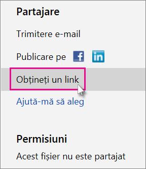 Obțineți un link