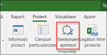 Sprinteaza butonul gestionare