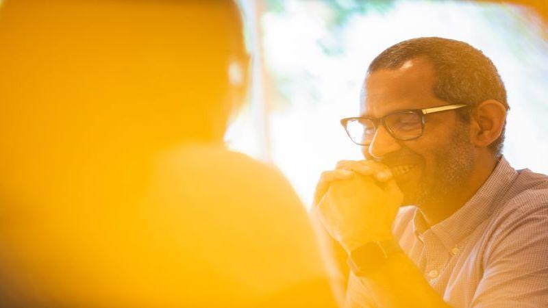 Fotografie decorativă cu un bărbat