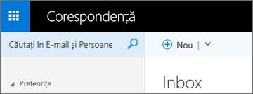 Cum arată panglica în Outlook Web App