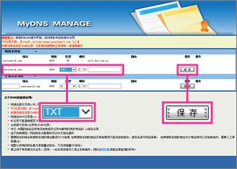 Adăugarea înregistrării TXT