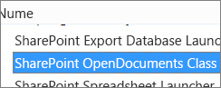 Activați controlul ActiveX SharePoint OpenDocuments Class