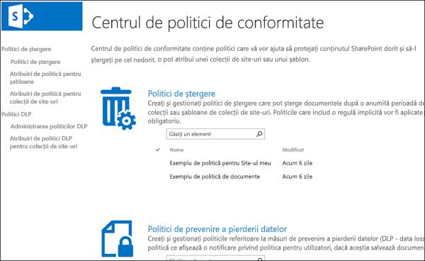 Centrul de politică a conformității