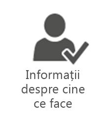 PMO - Informații despre cine ce face