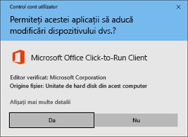 Faceți clic pentru a executa solicitarea