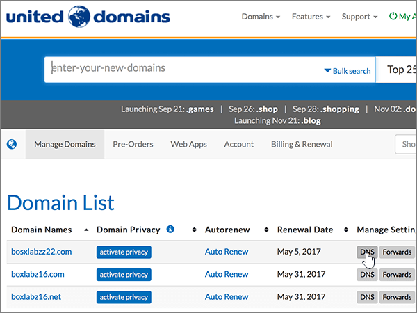 UnitedDomains-BP-Configure-1-2