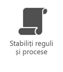 PMO - Stabiliți reguli și procese