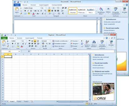 Word Starter și Excel Starter