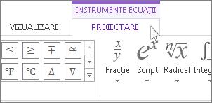 Instrument ecuație