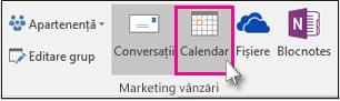 Selectați Calendar