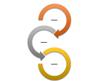 Circle Arrow Process SmartArt graphic layout