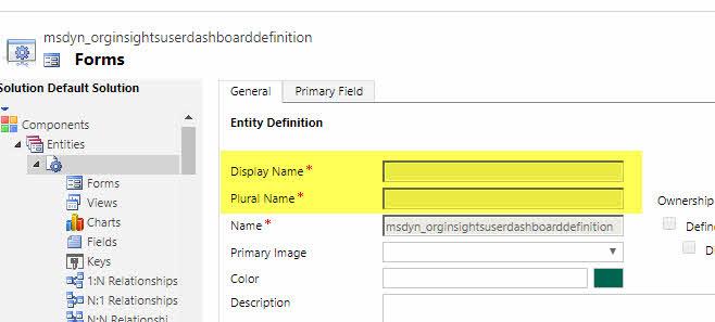 D365 Entitate Customizations2