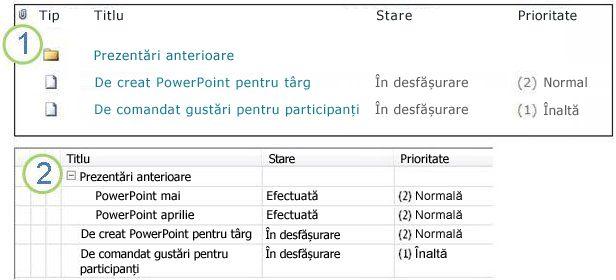 Foldere SharePoint de pe un site SharePoint și dintr-un spațiu de lucru SharePoint