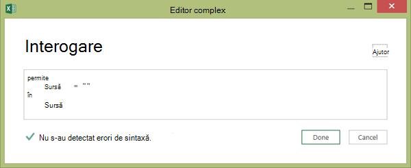 Editor complex2