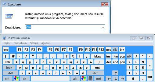 Tastatura vizuală