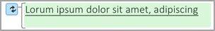 Evidențierea cu verde ilustrează textul modificat.