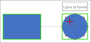 Conectarea la forma țintă folosind o conexiune dinamică